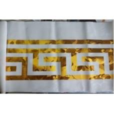 Клеёнка Gold  на нетканной основе, толщина 0.18mm, с орнаментом 1.40m×20m GZF 6654