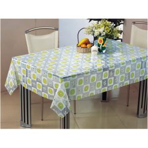 Клеенка Transparent PVC Tablecloth 1,37*30 прозрачная с рисунком TT-2492