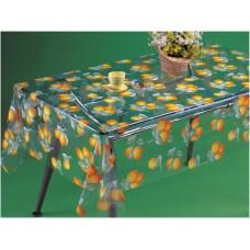 Клеенка Transparent PVC Tablecloth 1,37*30 прозрачная с рисунком TT-2515