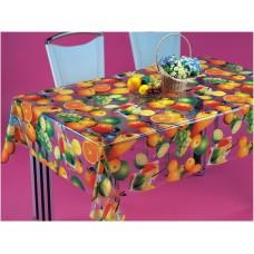 Клеенка Transparent PVC Tablecloth 1,37*30 прозрачная с рисунком TT-2545