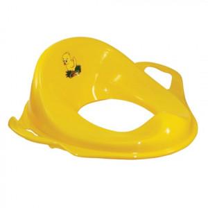 Адаптер детский с ручками пластик желтый