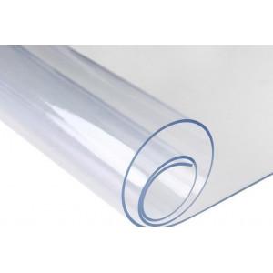 Скатерть жидкое стекло Transparent tablecloth (PVC) 0.8mm 1.4x20 m