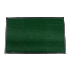Коврик придверный влаговпитывающий с рельефом 50*80 зел. (1004)