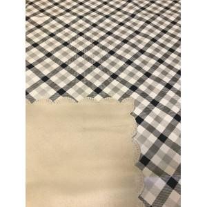 Скатерть столовая Премиум ткань MIX 100% ПВХ 110*140 1/40 435-7